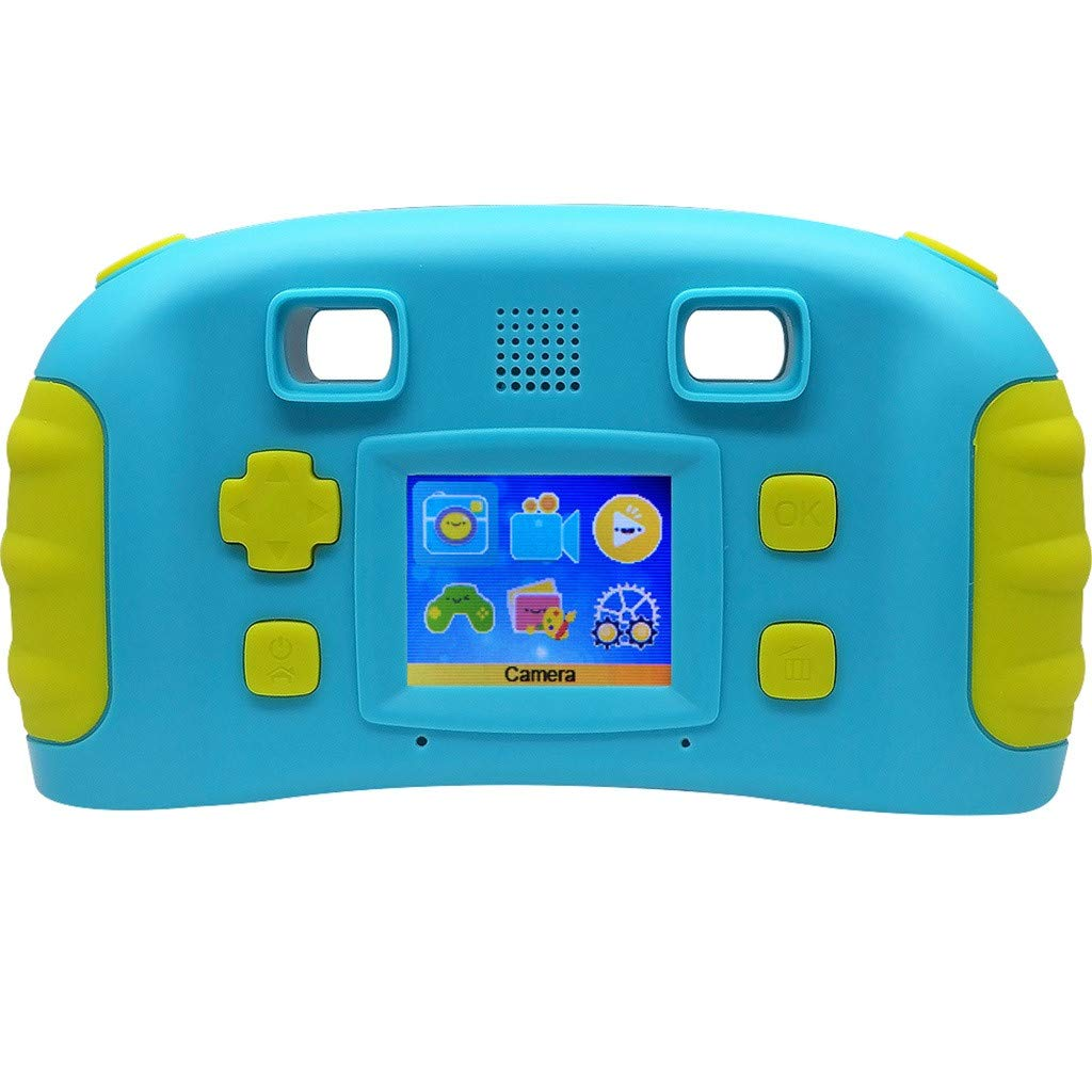 HowLoo Creative Camera for Children's 1.77-inch Game Digital Camera HD Motion Camera (Blue) by HowLoo (Image #4)