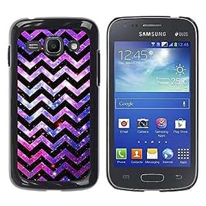 Be Good Phone Accessory // Dura Cáscara cubierta Protectora Caso Carcasa Funda de Protección para Samsung Galaxy Ace 3 GT-S7270 GT-S7275 GT-S7272 // Pattern Lines Universe Cosmos Pin