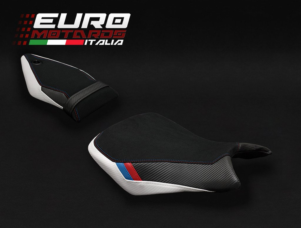 BMW S1000RR 2015-2017 Luimoto Motorsports Suede Seat Cover Set Front & Rear