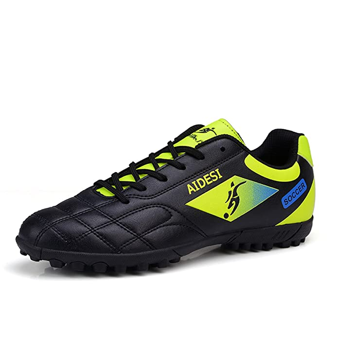 49e39f21d BADIER Soccer Shoes Indoor Outdoor Football Boots Athletic Turf Mundial  Team Cleat Running Sports Lightweight Breathable Anti-Skid Damping Shoes  for Men and ...