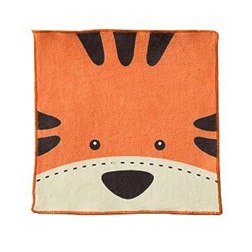 Algodón niños colgando las toallas de mano, toallas de dedo, multiusos, tigre: Amazon.es: Hogar