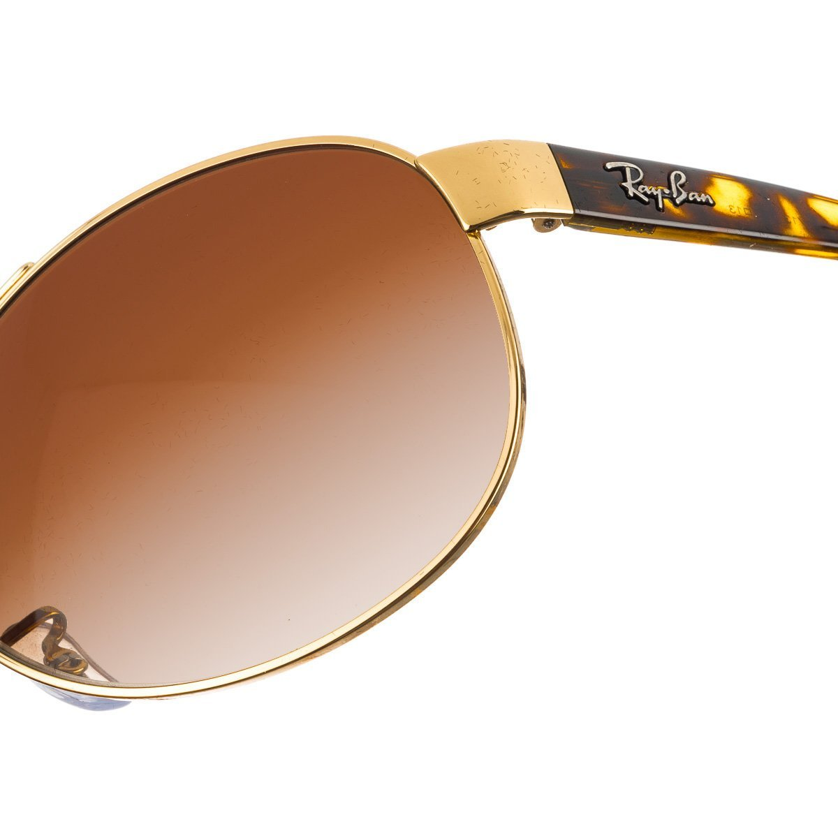 df3b2eebe6 Amazon.com  Ray-Ban Sunglasses - RB3386   Frame  Gold Lens  Brown Gradient  (63mm)  Clothing
