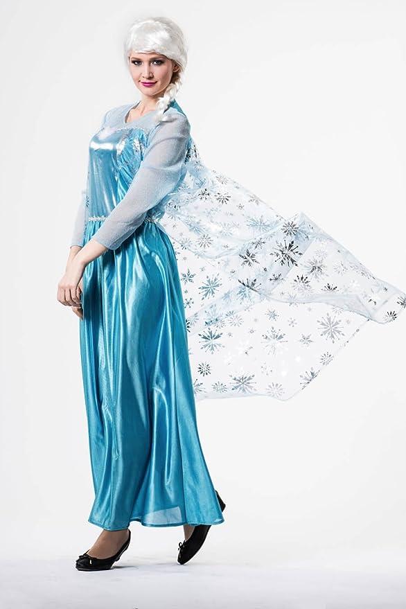 Disfraz Princesa del hielo para mujer: Amazon.es: Juguetes y juegos