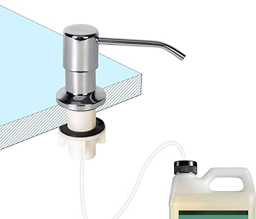 latest get new store Soap Dispenser for Kitchen Sink and Tube Kit,47