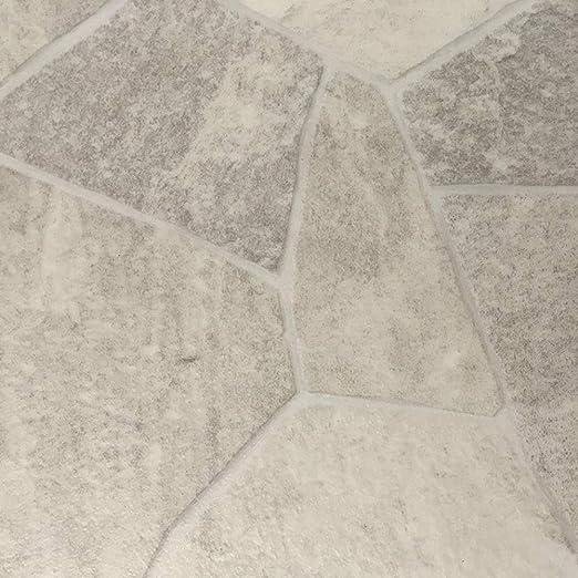 rutschhemmend CV-Boden wird in ben/ötigter Gr/ö/ße als Meterware geliefert PVC Vinyl-Bodenbelag in wei/ß-beige rustikale Esche PVC-Belag verf/ügbar in der Breite 2 m /& in der L/änge 1,5 m