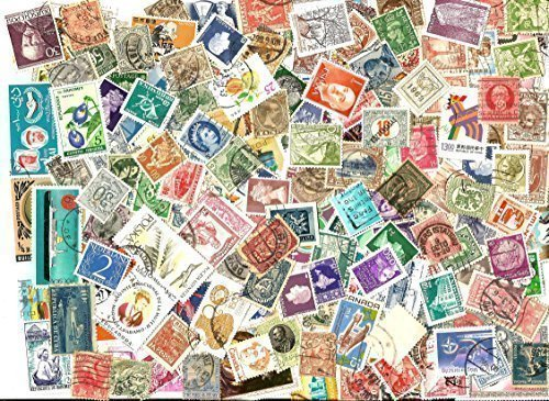 (75 OLD WORLD COLLECTIBLE POSTAGE STAMP ASSORTED MIX LOT WITH FREE STAMPS)