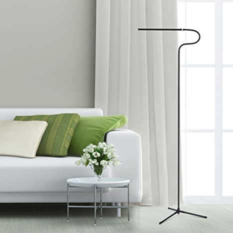 3 In 1 Dimmable LED Floor Lamp, SLYPNOS Height And Angle Adjustable Reading