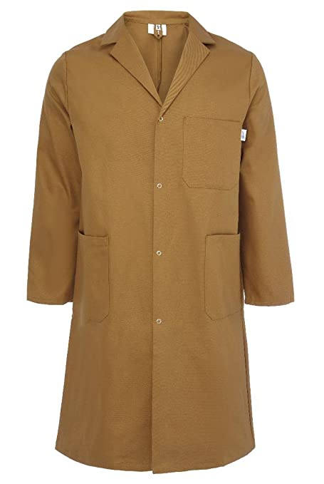 Men's Vintage Style Coats and Jackets Yarmo Mens Cotton Warehouse Coat Made in England - CT01K £34.99 AT vintagedancer.com