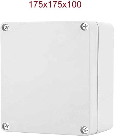 ALONGB Carcasa de plástico Blanco IP65 ABS Resistente a la ...