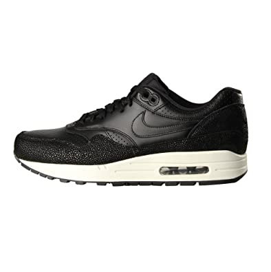 a77a946119 NIKE Air Max 1 Leather PA Stingray Black Mens Fashion Sneakers Running  Shoes **Rare**: Amazon.co.uk: Shoes & Bags