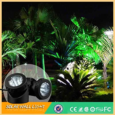 Room Light 6 LED Solar Power Lamp Light for Garden Pool Pond Fish Tank Underwater Spotlight,Home Decoration for Bedroom Living Room Kitchen: Home & Kitchen