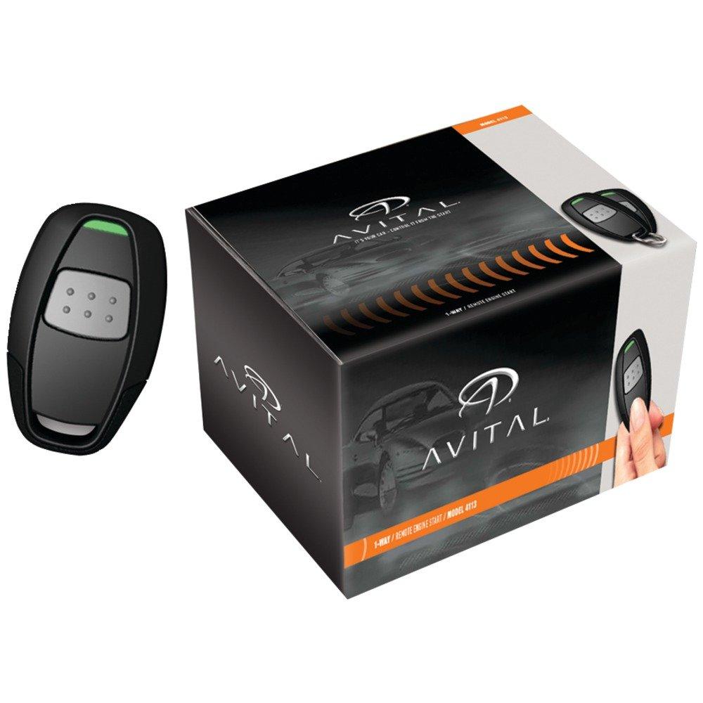 4111l 1 Button Remote Start System Automotive Avital 4111 Wiring Diagram