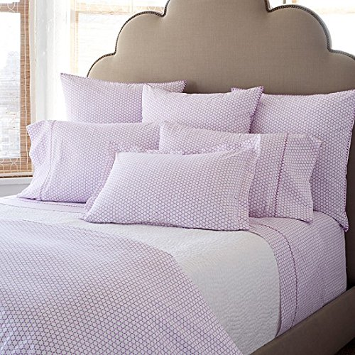 JR by John Robshaw Kesar Lavender White QUEEN Duvet Cover