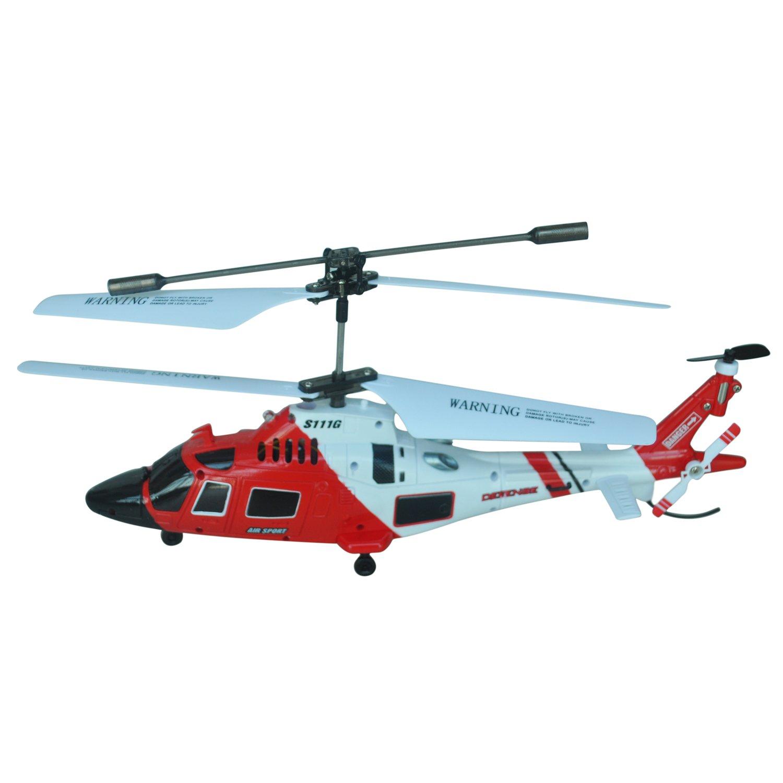 Syma S111G 3-Channel Gyro R/ C Infrarot Fernbedienung Kontroller Aussen Hubschrauber mit Gyroskop