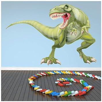 Azutura Tyrannosaurus T Rex Wandtattoo Dinosaurier Dino Wand