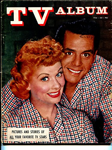 Lucy Album (TV Album 1954-Lucy & Desi-I Love Lucy-Groucho Marx-Eve Arden-Wally Cox-VG)