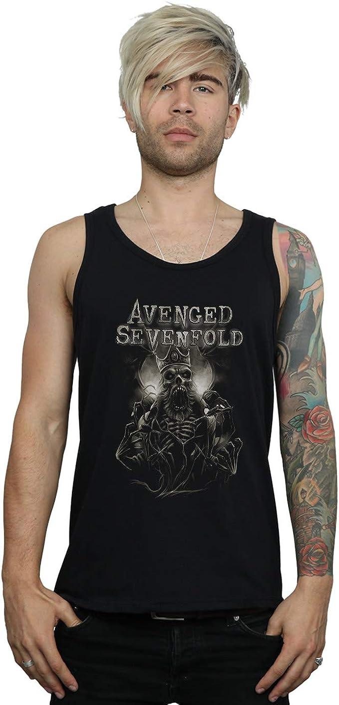 Avenged Sevenfold Hombre King Deathbat Camiseta Sin Mangas
