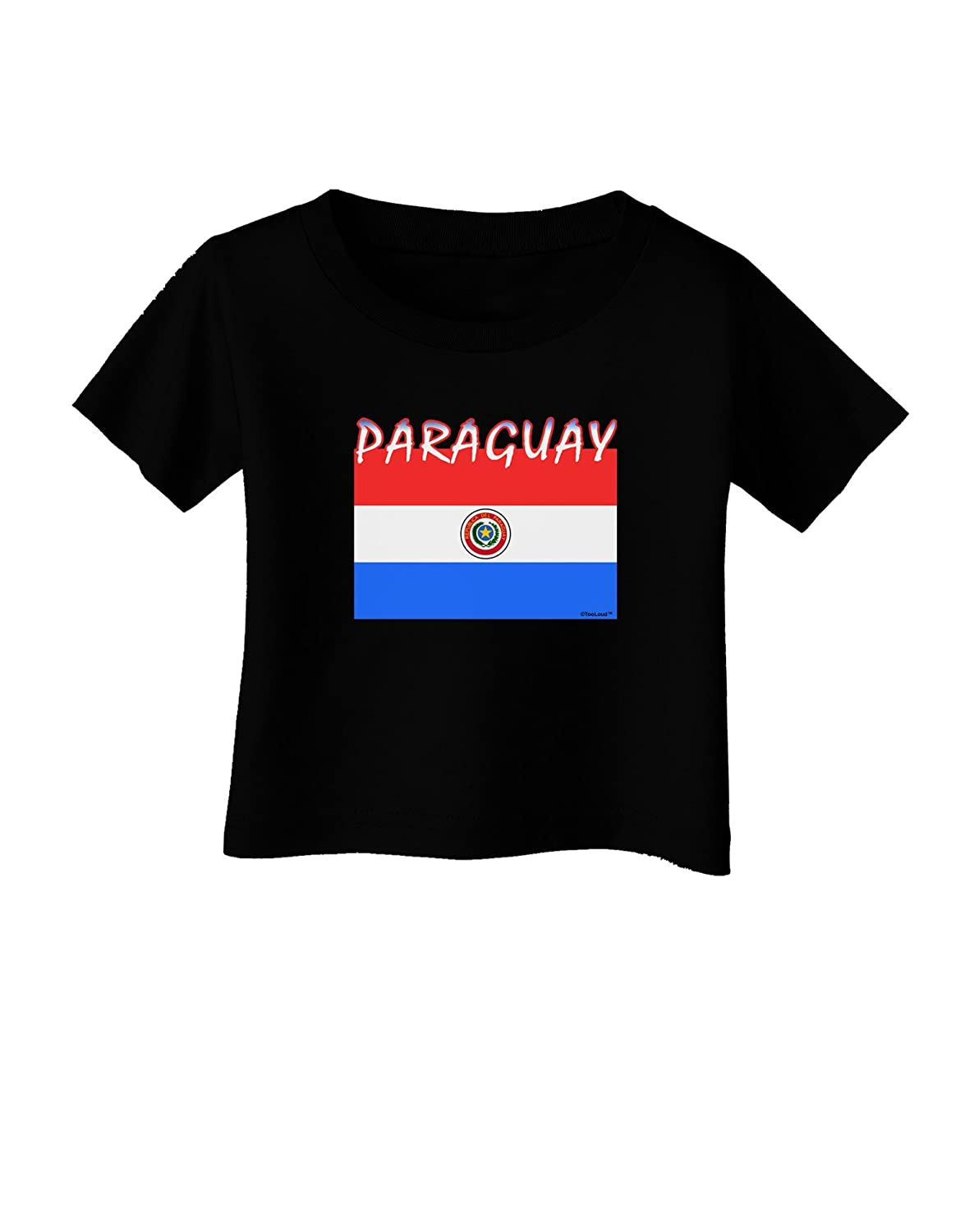 TooLoud Paraguay Flag Dark Infant T-Shirt Dark