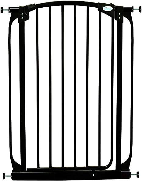Dreambaby Extensi/ón 9 cm para la Barrera de Seguridad Liberty Extra Alta negra
