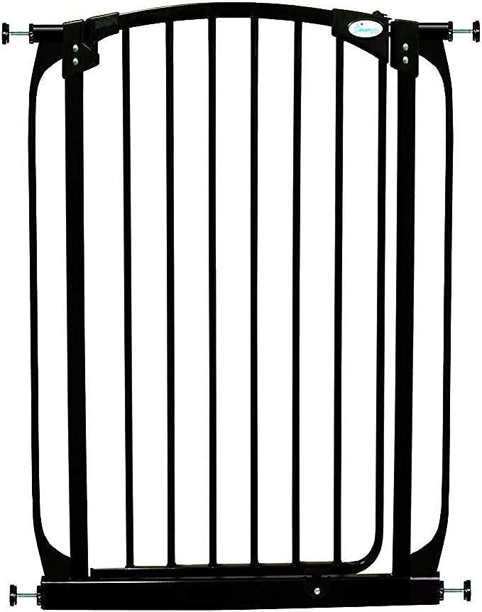 Dreambaby barrera de seguridad Chelsea extra alta (71-80cm), negra: Amazon.es: Bebé