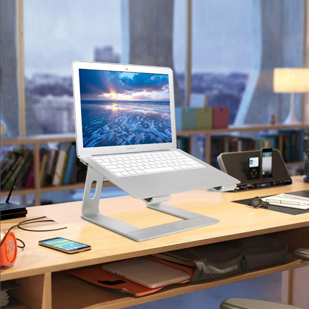 Adjustable Aluminum Laptop Stand for Desk Apple MacBook Pro Air 10-17.3 Foldable Stands