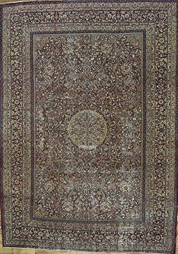 Rug Source Pre-1900 Collectible Antique 9x12 Dorokhsh Handmade Persian Area Rug (12' 2'' x 8' 8'')