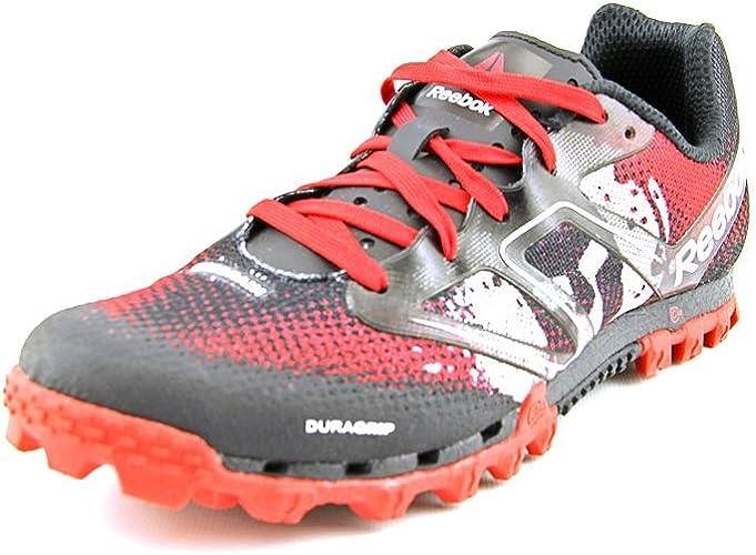 Depresión estafa Tierra  Reebok All Terrain Super Spartan Womens Running Shoe 7 Red-Black-White:  Amazon.co.uk: Shoes & Bags