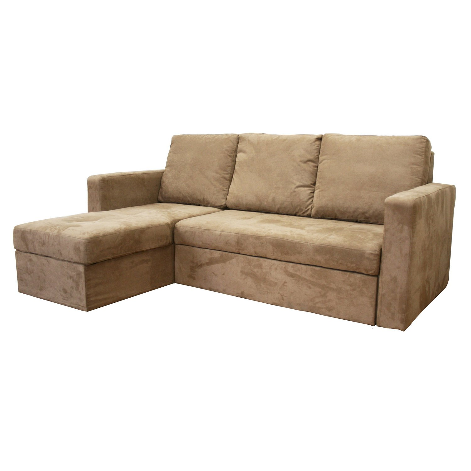 Amazon Baxton Studio Linden Microfiber Convertible Sectional