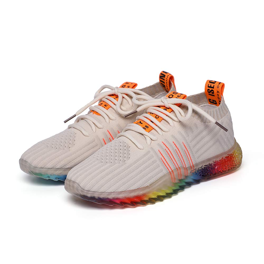 acb66cf4a5899 PEGGY PIGGY Women's Sports Shoes Rainbow Jelly Soles Sneakers Breathable  Shoes