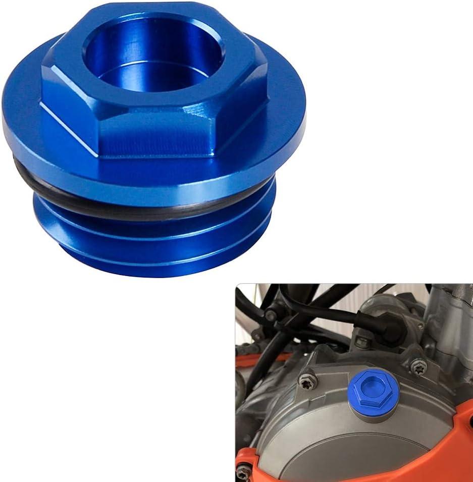 Bouchon de remplissage dhuile CNC pour moto Husqvarna TC50 TC65 TC85 FC FE TC TE FX FS 125 250 300 450 501 2014-2019