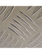 Chapa de aluminio estriada de 5/6,5mm, resistente, cubierta para pozos, alcantarillas, agujeros...