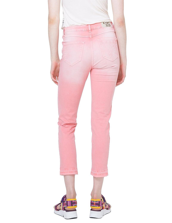 Desigual PANT_CYRENE, Pantalon Femme, (Caramel 3122), 44