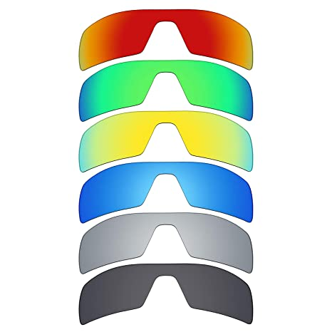 MRY 6 pares polarizadas lentes de repuesto para Oakley Oil Rig ...
