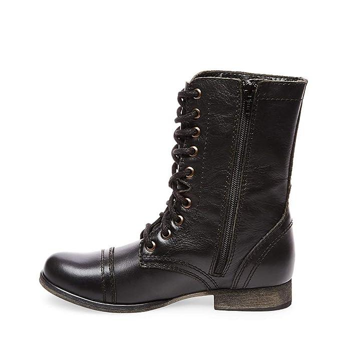 Amazon.com: Steve Madden, Troopa, botas con cordones, para ...