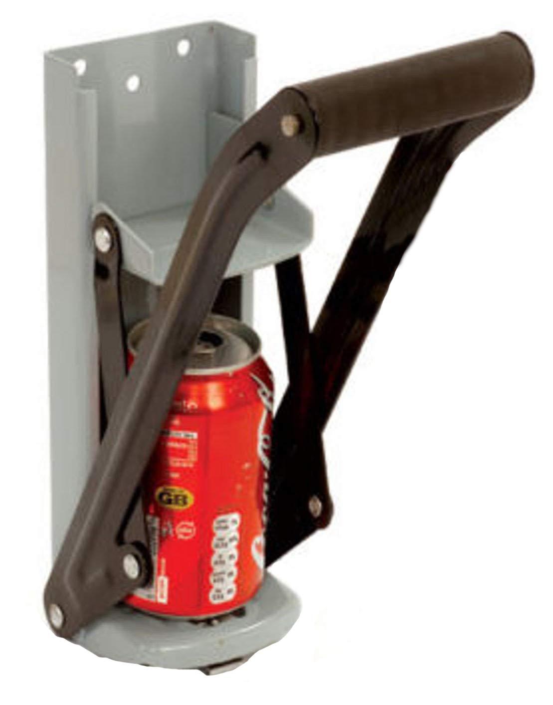 ( 2 ) 16oz Can CrusherアルミCan Crusher栓抜き壁マウント2 N1 EZ Crush B018U0WQWQ