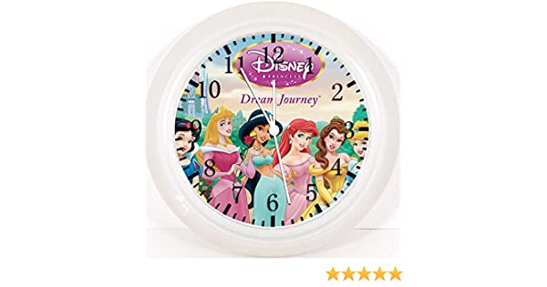 Amazon.com: Disney Princess Wall Clock 10