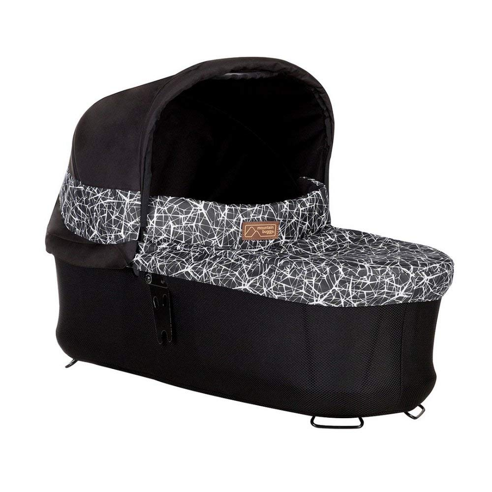 Mountain Buggy Carrycot Plus with 3 Seat Modes for 2015 Terrain, Plus One, and Urban Jungle, Graphite