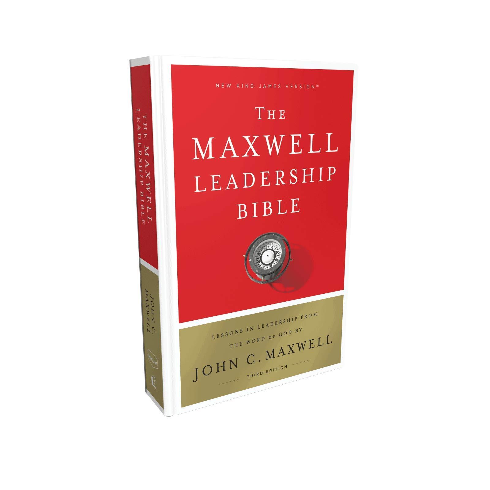 NKJV, Maxwell Leadership Bible, Third Edition, Hardcover, Comfort