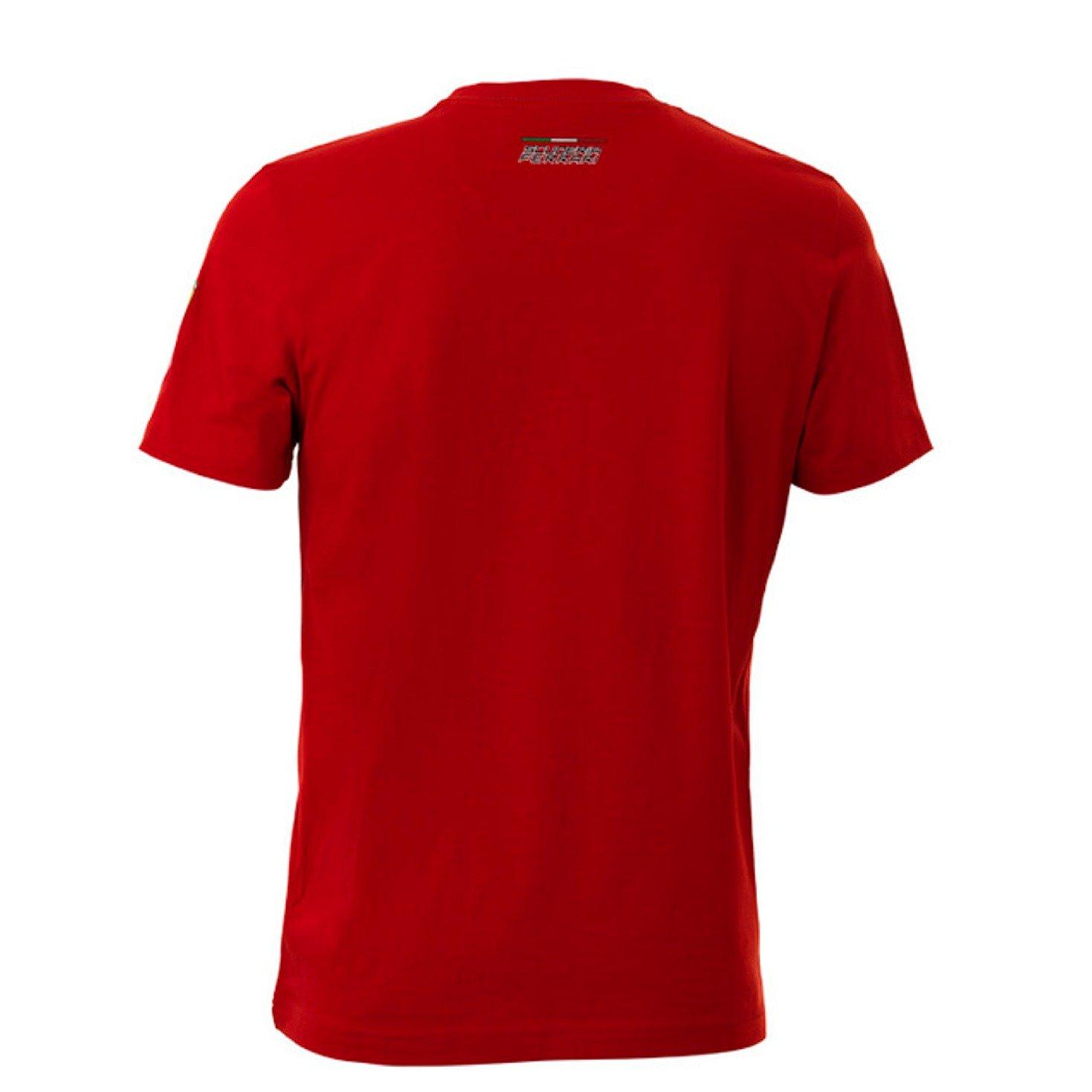 Camiseta Scuderia Ferrari F1 circuito de Fiorano, para hombre, en ...
