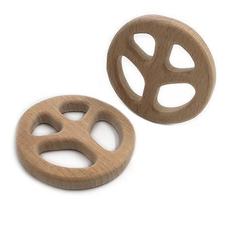 coskiss hecho a mano de madera de seguridad Bio Baby ...