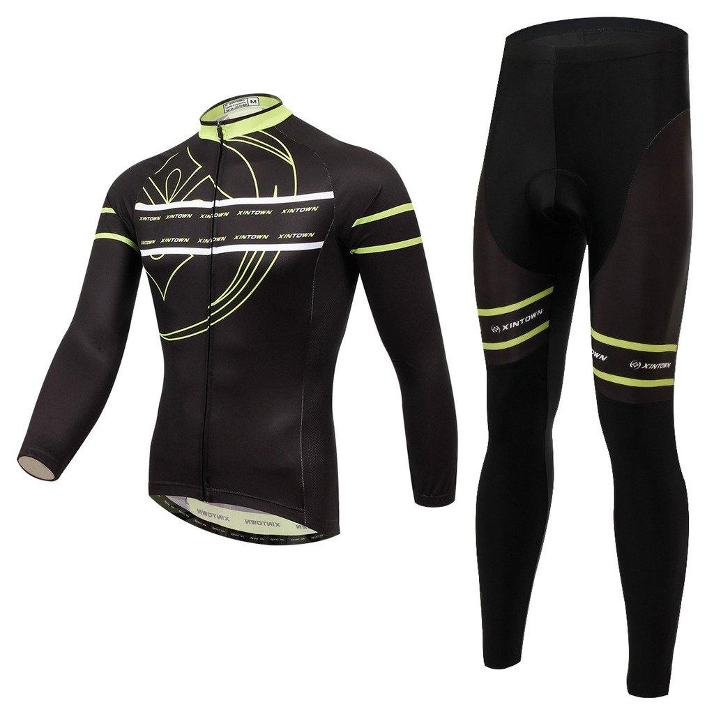 LongSpoz Spoz Men Cycling MTB Supernatural Gel Pad Jersey Set