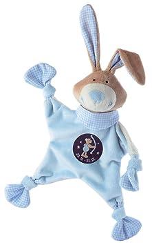 Mantita arrullo con diseño de conejo y símbolo de Sagitario