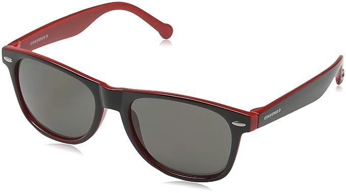 830a41e9adf Converse Men S Sco081Q Sco081Q Sunglasses Blue Red  Amazon.co.uk ...