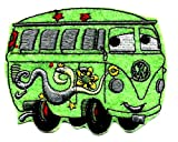 3.5 X 2.75 inches FILLMORE VW volkswagen 1960 van transporter bus in Cars Movie Embroidered Iron On / Sew On Patch Applique