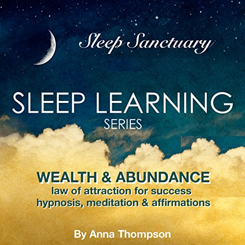 Wealth & Abundance: Law of Attraction for Success: Hypnosis, Meditation & Affirmations: Sleep Learning Series