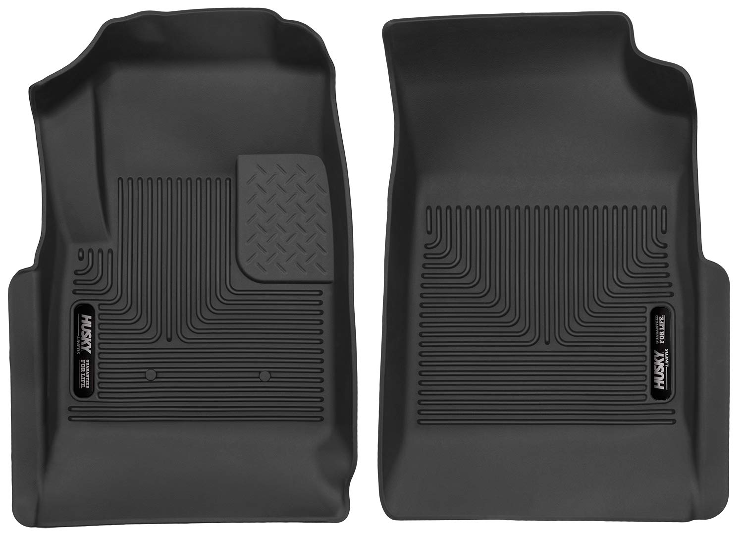 Husky Liners Front Floor Liners Fits 15-19 Colorado/Canyon