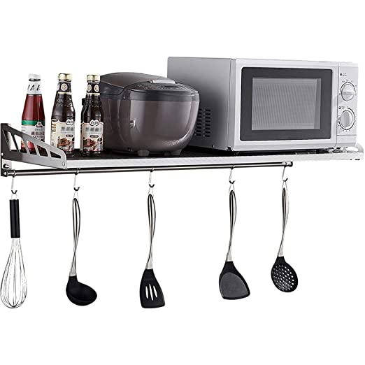 shelf Rejilla de Cocina de Acero Inoxidable 304, Colgador de Pared ...