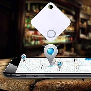 TEXXIS Anti-Lost Theft Device Alarm Mini Bluetooth Wallet Key GPS Tracker for Kids Pet GPS Trackers