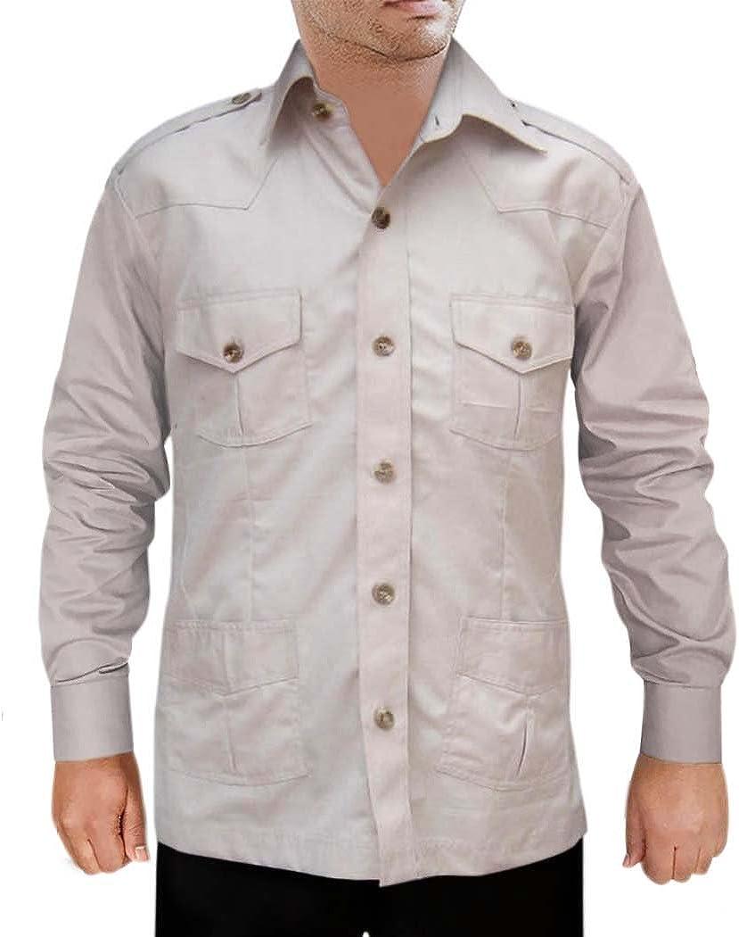 INMONARCH HS108 - Camisa de Caza para Hombre con 4 Bolsillos: Amazon.es: Ropa y accesorios