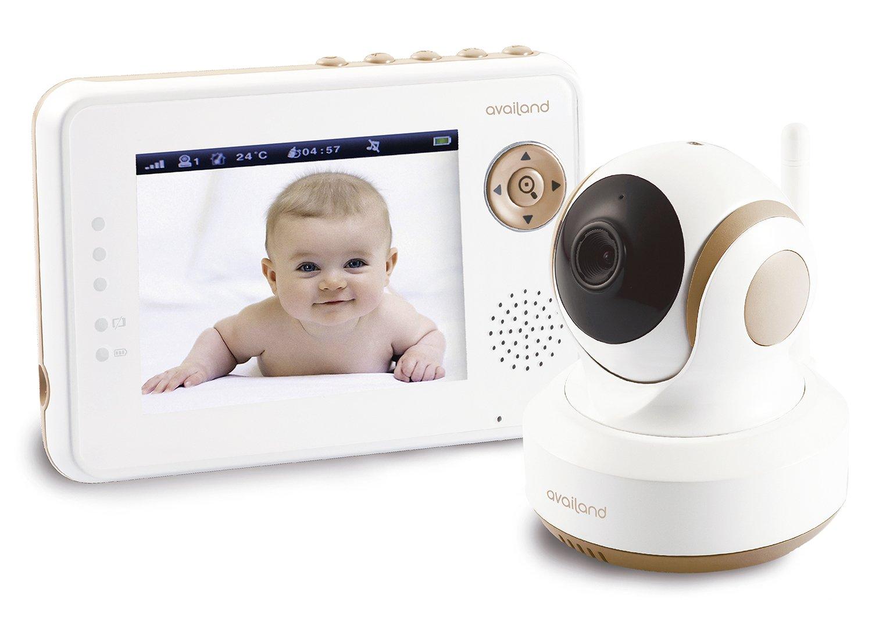 Vigilabebés Availand Follow Baby Cámara motorizada con seguimiento automático del bebé Función